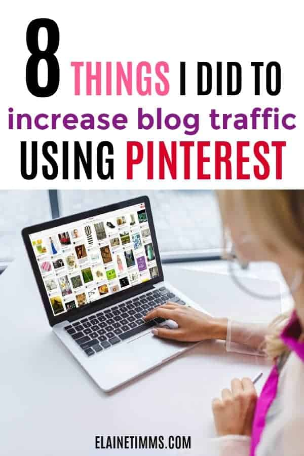 How to use Pinterest for blog traffic