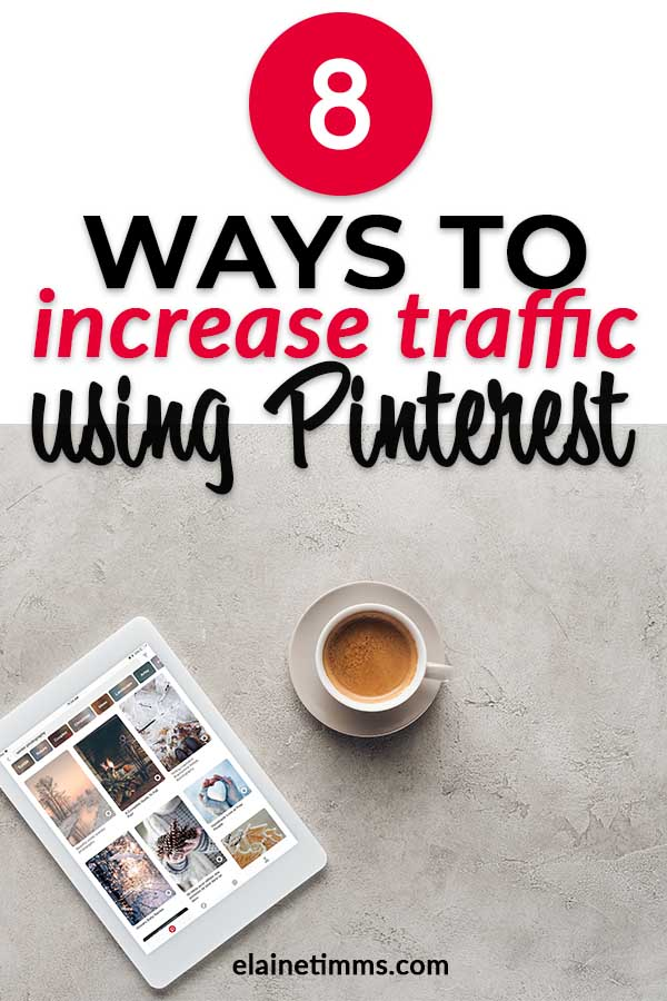 Increase traffic Pinterest