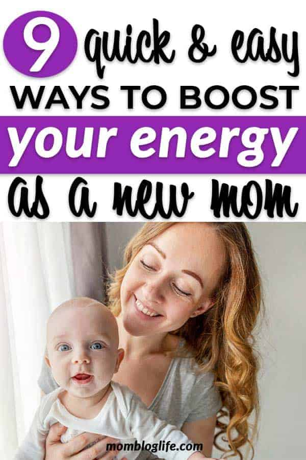 Easy ways to boost energy for new moms