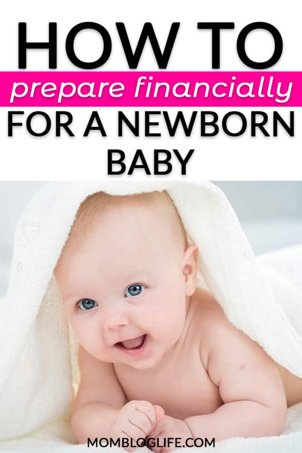 How to prepare financially for a newborn baby