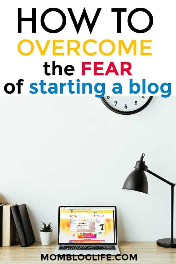 fear of starting a blog