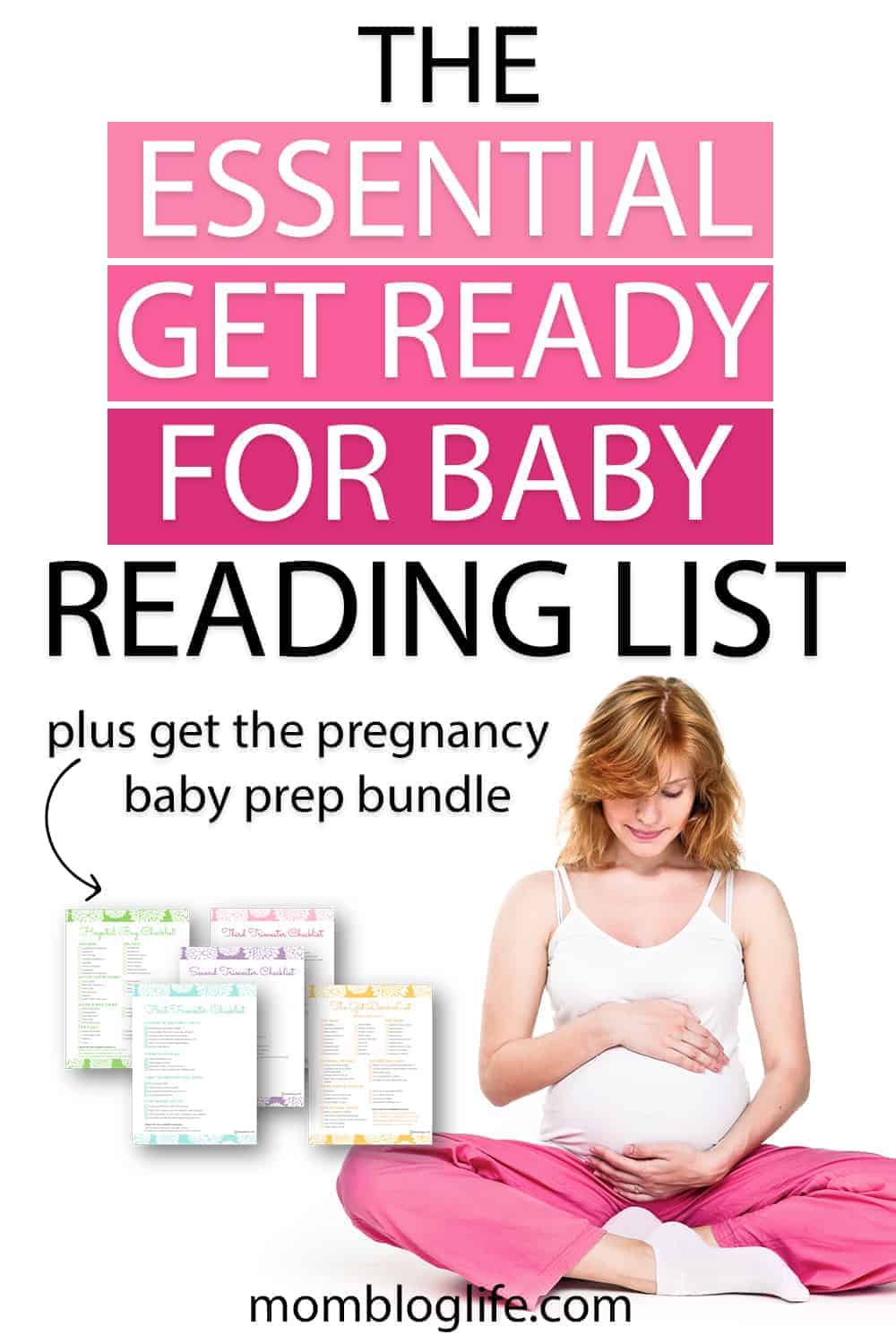 The essential get ready for baby reading list