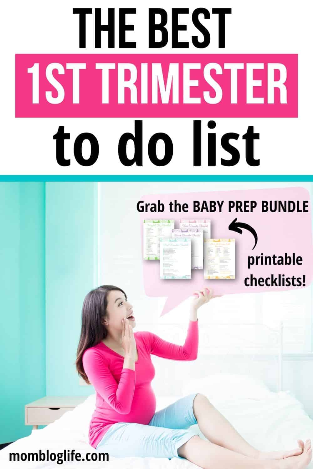 essential first trimester to do list