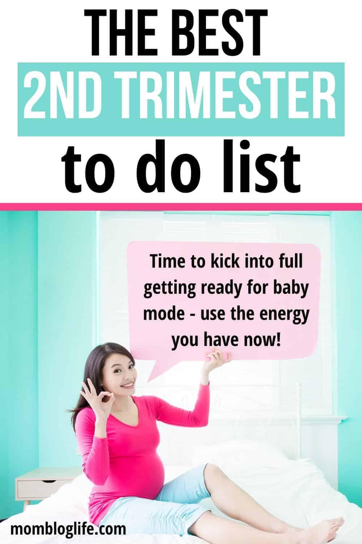 essential second trimester to do list