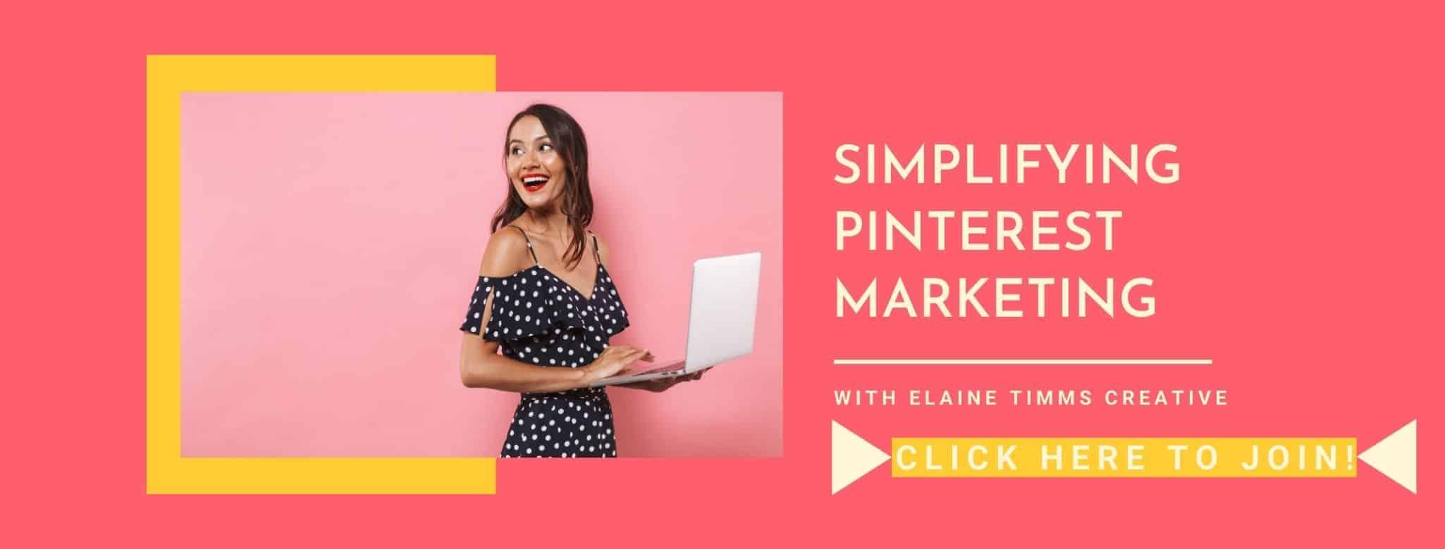 Making Pinterest marketing easy to understand for female entrepreneurs