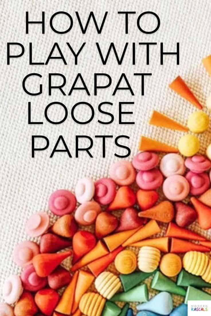 How to Play with Grapat Mandalas Loose Parts