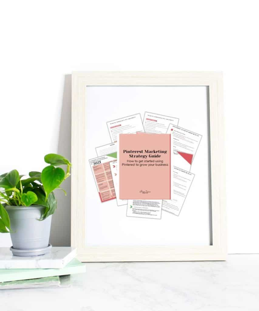 A free guide to getting started on Pinterest for business and how to create a strategy