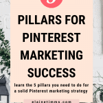 The 5 pillars of a successful Pinterest marketing strategy