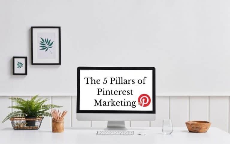 Pinterest marketing strategy pillars for success